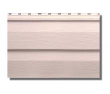Сайдинг вініловий Альта-Профіль KANADA Плюс Престиж двухпереломний 3660х230х11 мм персиковий