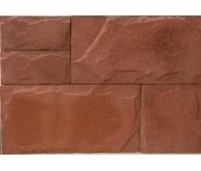 Облицовочная плитка Золотой Мандарин Сланец 210x60 мм россо