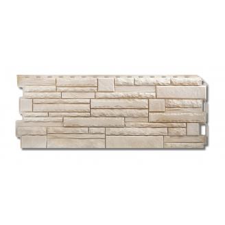 Фасадна панель Альта-Профіль Скелястий камінь 1170х450х20 мм Альпи