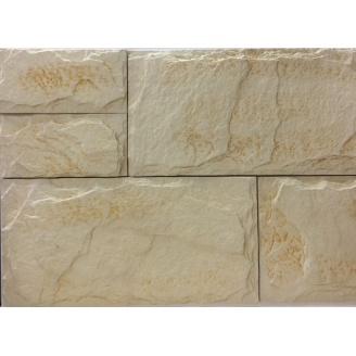 Облицовочная плитка Золотой Мандарин Сланец 210x60 мм ваниль