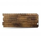 Фасадна панель Альта-Профіль Скелястий камінь 1170х450х20 мм Тибет