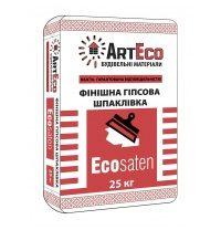 Финишная шпаклевка ArtEco Ecosaten 25 кг белый