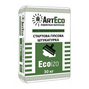 Стартова шпаклівка ArtEco Ecoizo 25 кг білий
