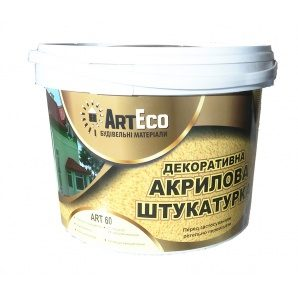 Декоративна штукатурка ArtEco Art-60 акрилова 25 кг білий