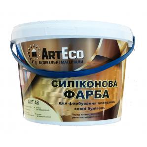 Фарба фасадна ArtEco Art-48 силіконова 10 кг білий