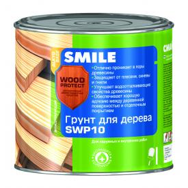 Грунт SMILE SWP-10 WOOD PROTECT для дерева антисептирующий 0,75 л