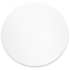 Захисний килимок з полікарбонату Master круглий 90 см прозорий