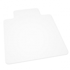 Защитный коврик из поликарбоната Clear Style Master Т-образный 92х122 см прозрачный
