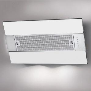 Пристінна витяжка BEST IRIS White 550х341х950 мм нержавіюча сталь