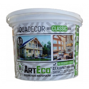 Декоративний засіб ArtEco AQUADECOR 4,5 л темний дуб