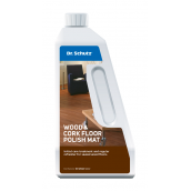 Полироль для паркета Dr. Schutz Wood & Cork Floor Polish Mat матовая 0,75 л