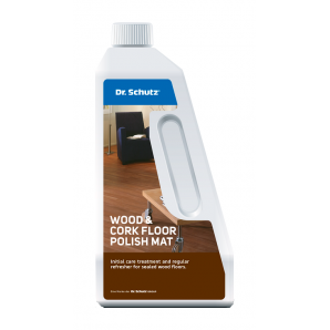 Поліроль для паркету Dr. Schutz Wood & Cork Floor Polish Mat матова 0,75 л