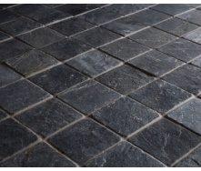 Плитка тротуарная Alex Group армированная 400х400х50 мм черная