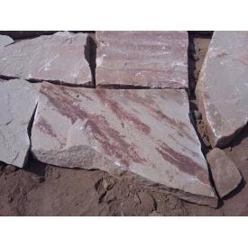Песчаник Alex Group Теребовлянский плоский 1 см красно-серый