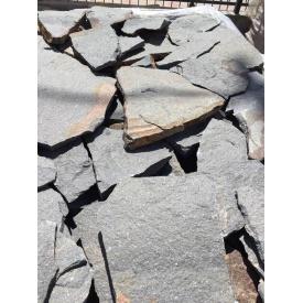 Облицювальна рваний камінь Alex Group Закарпатський андезит 2,5 см сіро-синій