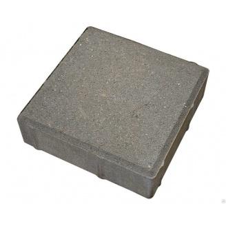 Плитка тротуарная Alex Group армированная 400х400х50 мм серая