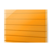 Сотовый поликарбонат Plazit Polygal 8 мм 2,1х3 м