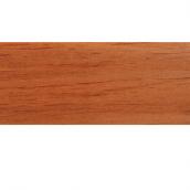 Плинтус-короб TIS с прорезиненными краями 56х18 мм 2,5 м чери