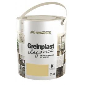 Краска латексная внутренняя Greinplast Элегантно-Классическая FW-K 2,5 л