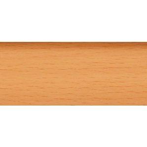 Плінтус-короб TIS з прогумованими краями 56х18 мм 2,5 м бук