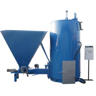 Твердотопливный парогенератор Wichlacz Wp R с автоматической подачей топлива 750 кВт