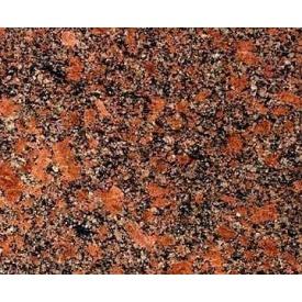 Гранитная плитка Новоданиловского полированная 300х600х20 мм красная