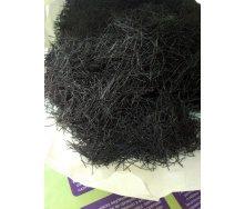 Фибра полипропиленовая сверхпрочная Monerte Fiber BLACK 24 мм