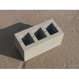 Шлакоблок стіновий 390х190х190 мм