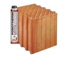 Керамічний блок Porotherm PTH 38 P+W Dryfix 380x248x249 мм