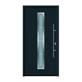 Дверь входная Hormann Thermo 65 700 RAL 7016 серый антрацит