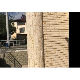 Скол мрамора Эволюция камня Солнце 30х7х2,5 см