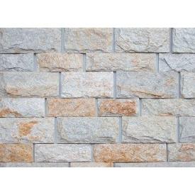 Облицовочный камень Сланец комби 10 см 7 см бежевый
