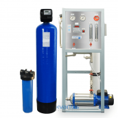 Система комплексной очистки воды с обратным осмосом ECONOM 0,25 м3/ч