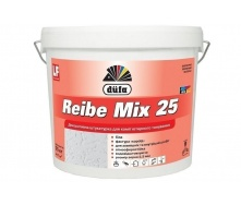 Штукатурка Dufa Reibe Mix25 25 кг белый