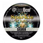Металлизированный блеск ArtEco 50 г silver