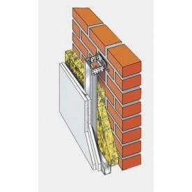 Система Кнауф С-623 для облицовки стен металлическим каркасом в два слоя