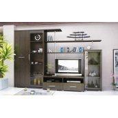 Гостинная Мебель-Сервис Нео-3 1820х2700х588 мм венге темный