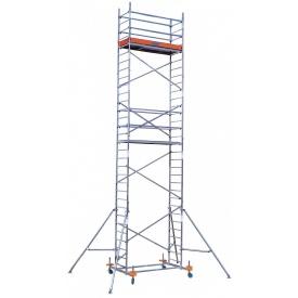 Вишка-тура Krause ClimTec базова секція та 2 надбудови з коліщатками 7 м