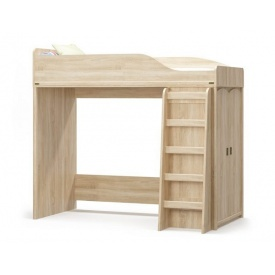 Кровать-горка Мебель-Сервис Валенсия 1820х2020х971 мм самоа