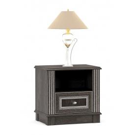 Тумба прикроватная Мебель-Сервис Бристоль 556х390х535 мм дуб шефилд