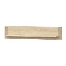 Полку Мебель-Сервіс Гресс 140 1392х302х216 мм дуб самоа