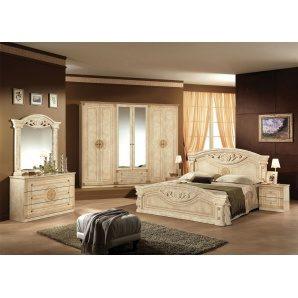 Спальня Мебель-Сервис Рома 6Д клен