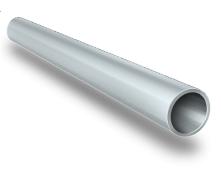 Алюминиевая труба круглая AS 50x2 мм