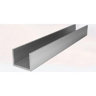 Алюминиевый П-образный профиль AS 20х40х2 мм