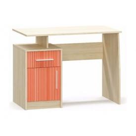 Комп'ютерний стіл Меблі-Сервіс Сімба 750х1000х550 мм береза/червоне