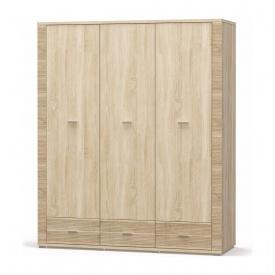 Шафа Мебель-Сервіс Гресс 3Д3Ш 1608х1920х550 мм дуб самоа