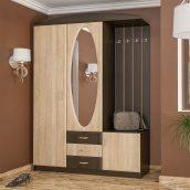 Прихожая Мебель-Сервис Вита-2 2100х1500х520 мм венге/дуб самоа