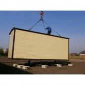 Дачний будиночок стандарт з санвузлом 8х3х2,8 м