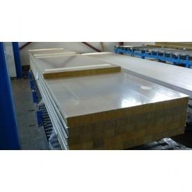 Сэндвич панель из минеральной ваты СМ-60 60 мм