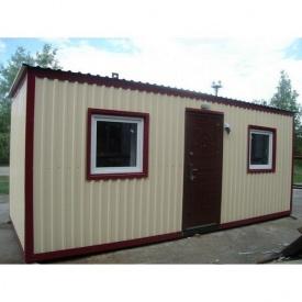 Дачный домик эконом 6х2,5х2,8 м